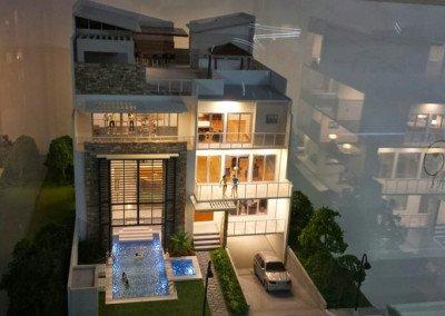 Kandi Basement - Kandi Villa Scaled Model