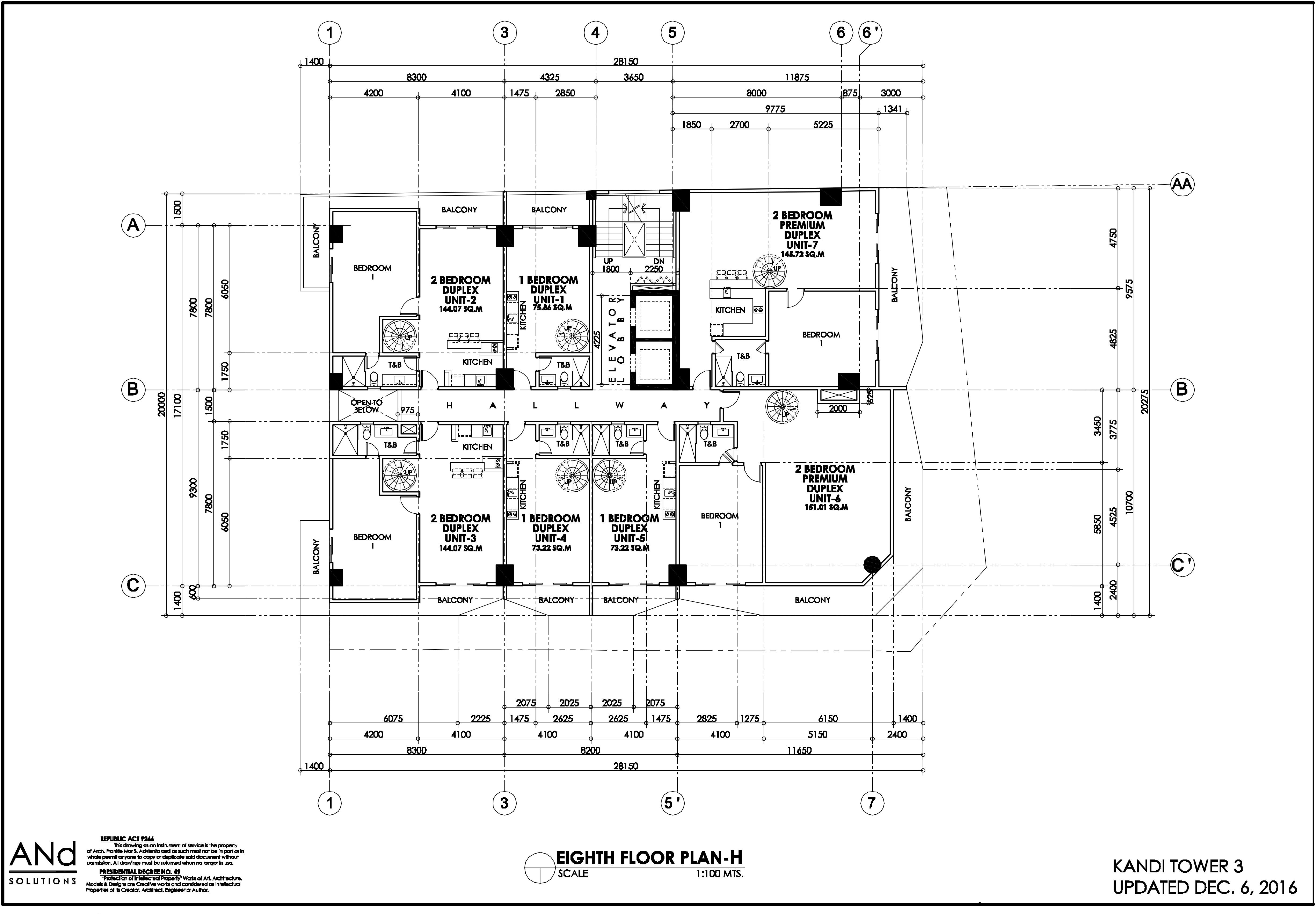 buy now kandi realty kandi towers 3 8th floor level h